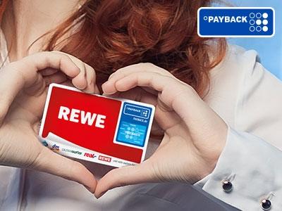 Punkten mit der REWE PAYBACK Karte