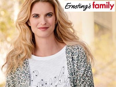 Ernsting's family: 15% Rabatt auf Damenoberbekleidung