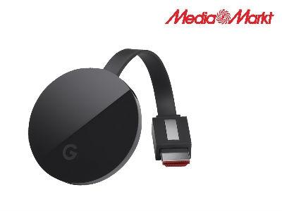 GOOGLE Chromecast Ultra für nur 55€