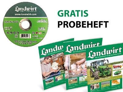"""Kostenloses """"Landwirt"""" Magazin + Trennscheibe"""