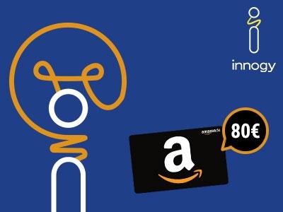 Je 80€ Amazon.de-Gutschein zum Strom- und Gaswechsel bei innogy