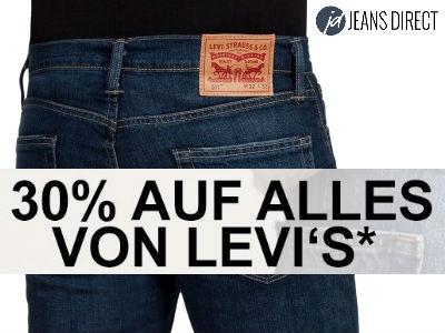 30% auf alles von Levi's (auch auf Sale)