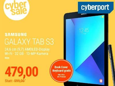 Samsung GALAXY Tab S3 für nur 479€