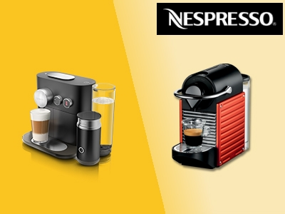 20% auf Nespresso-Maschinen + 40€ Guthaben