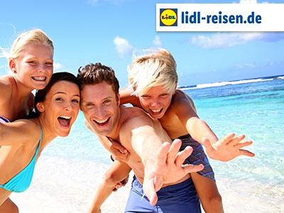 Auf in den Urlaub: 100€ Rabatt bei Lidl Reisen