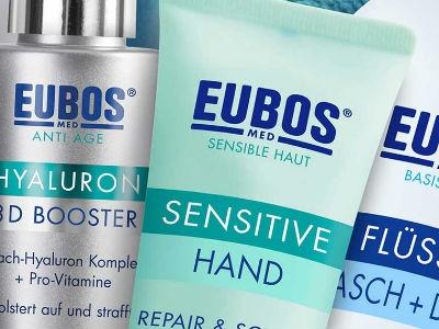 Kostenlose Produktproben von Eubos