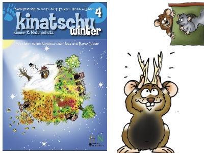 """Gratis Kinderheft """"Winter"""" von Kinatschu"""