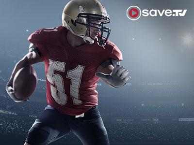 Zum 52. Super Bowl Save.TV 52 Tage gratis testen!