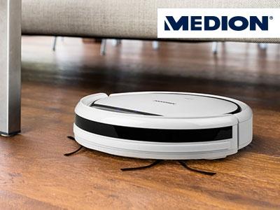 Top-Angebot von Medion:  Saugroboter für nur 119€