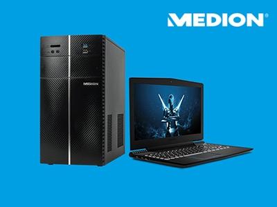 Sale bei Medion: fette Rabatte auf PCs + Notebooks