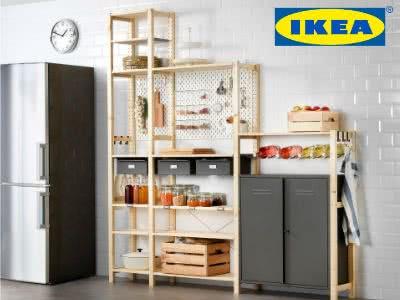 IVAR Regale von IKEA: 5€ geschenkt je 50€ Kauf
