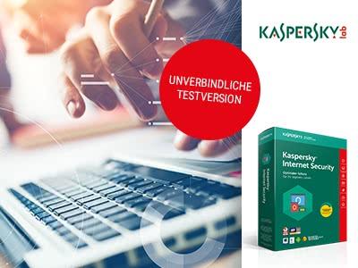 Kaspersky Internet Security 30 Tage gratis!