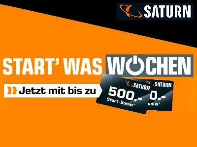 """""""Start'-Was-Wochen"""" bei Saturn"""