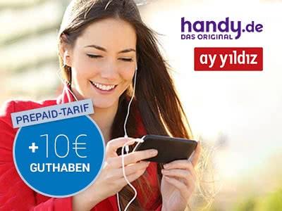 10€ Prepaid gratis bei handy.de