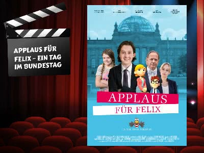 """Für Kinder: Kostenlose DVD """"Applaus für Felix"""""""