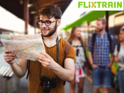 Top-Deal von FlixTrain: 9.999 Zugtickets für nur 9,99€