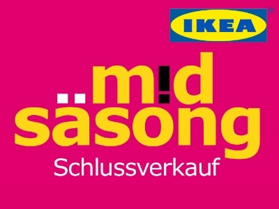 midsäsong-Schlussverkauf bei IKEA: Viele Artikel stark reduziert