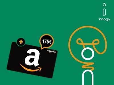 Strom oder Gas wechseln und 175€-Amazon.de-Gutschein sichern