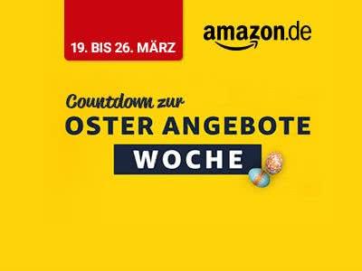 Countdown zur Oster-Angebote-Woche von Amazon