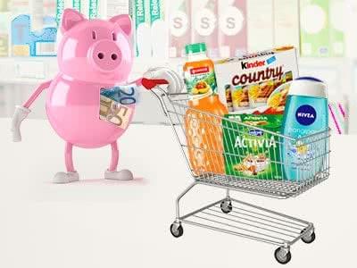 Kostenlose Produkte dank Cashback- und Geld-zurück-Aktionen