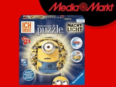 Minions-Nachtlicht bei MediaMarkt für 16,49€
