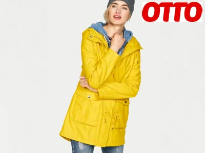 Stylische Regenjacke bei OTTO für 125,91€