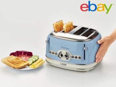 Stylischer Vintage-Toaster bei eBay für 44€