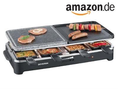 Raclette von Severin bei Amazon für nur 33€