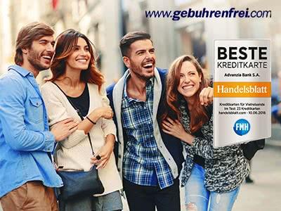 Gebührenfrei Mastercard GOLD + 30€ Startguthaben
