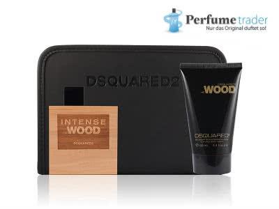 "DSQUARED² ""He Wood Intense""-Set inkl. Kulturbeutel für nur 29,50€"