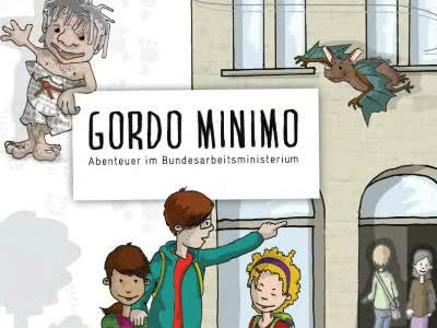Gratis bestellen: das Kinderbuch des Bundesarbeitsministeriums