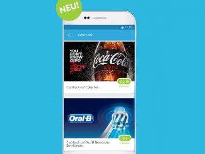 Rabatte und Gratis-Produkte mit der Cashback-App marktguru!