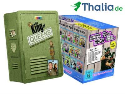 """Nur heute: Spart ganze 18% bei Thalia - """"King of Queens""""-Blu-ray-Box für nur 57,39€"""