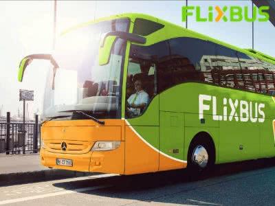 In 50 Städte reisen ab 1€ bei FlixBus