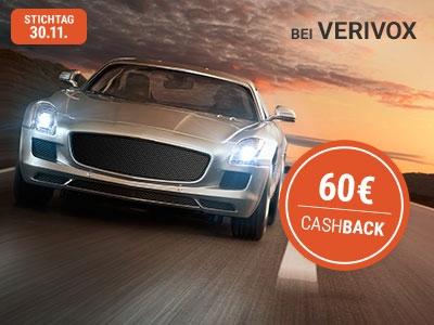 Kfz-Tarifwechsel mit Verivox + 60€ Cashback