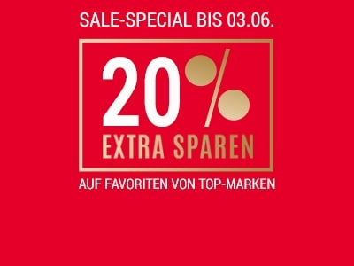 20% extra bei CHRIST