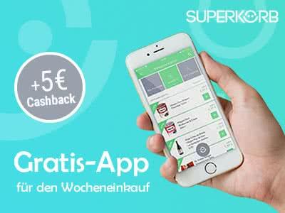 SUPERKORB: Gratis-App für den günstigen Wocheneinkauf