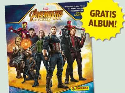 """""""Avengers: Infinity War"""" – Panini Stickeralbum gratis bestellen"""