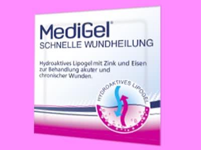 Solange der Vorrat reicht: MediGel zur schnellen Wundheilung gratis testen