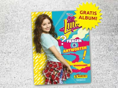 Gratis Disney Soy Luna Stickeralbum