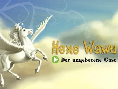 """Gratis-Hörspiel der Hexe Wawu: """"Der ungebetene Gast"""""""