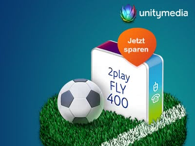 400 Mbit/s: DSL Tarif für nur 29,99€ mtl. bei Unitymedia