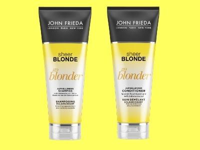 Blondinen aufgepasst: Gratis-Produktpaket von John Frieda sichern
