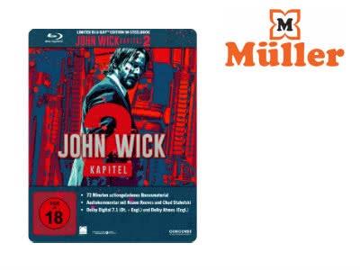John Wick 2 als Blu-ray Steelbook-Edition für nur 9,99€