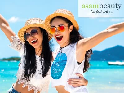 Sommerpflege für Haut & Haar: mit 10% Rabatt bei Asambeauty