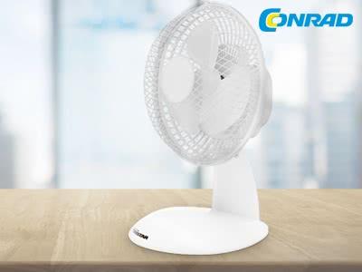 Gratis-Ventilator zu jeder Bestellung ab 79€ Mindesteinkaufswert bei Conrad