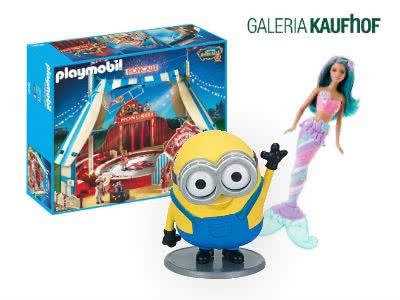 Bis zu 55% Rabatt auf Spielwaren bei GALERIA Kaufhof