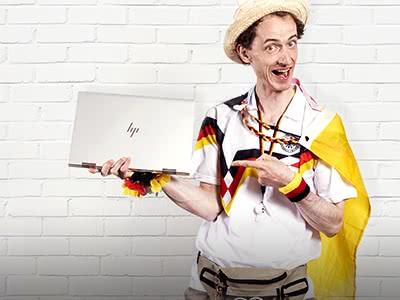 "HP Notebook HP ""ENVY x360 15-bp108ng"" für nur 749€ statt 999,01€"