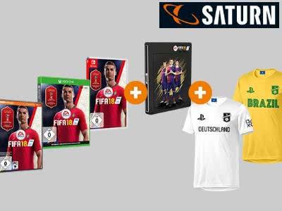 FIFA 18 + Steelbook + Fan-Trikot nach Wahl für nur 29€