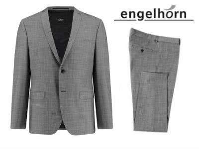 10% auf Business-Looks: s.Oliver Herren-Anzug für nur 84,91€ bei Engelhorn